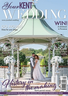 Cover of the September/October 2021 issue of Your Kent Wedding magazine