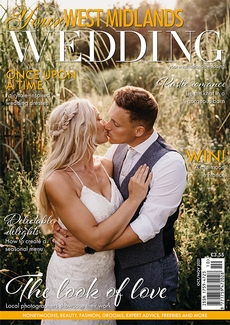 Cover of the October/November 2021 issue of Your West Midlands Wedding magazine