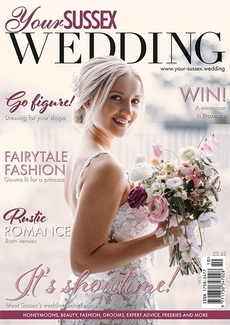 Cover of the October/November 2021 issue of Your Sussex Wedding magazine