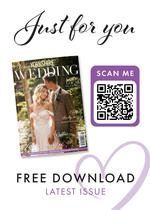 View a flyer to promote Your Yorkshire Wedding magazine