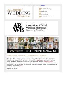 Your Yorkshire Wedding magazine - October 2021 newsletter