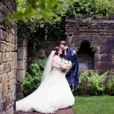 Rustic romance for Charlotte and Ross