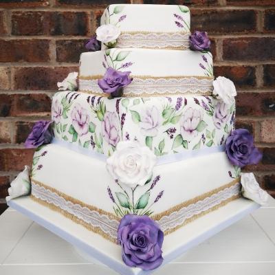 We chat wedding cake trends with Yorkshire cake designer Sugar 'n' Rose Cakes