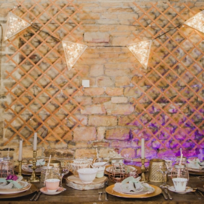 How do you bring light and atmosphere to your wedding venue? We ask Yorkshire lighting specialist Luminest