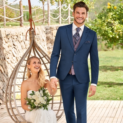 Grooms! We have some great advice from Yorkshire wedding suit specialist Frank Bird for you