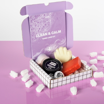 Lush launch letterbox Hand Care Kits online