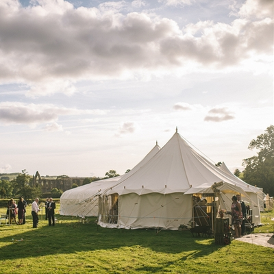 Get married al fresco with Yorkshire Yurts