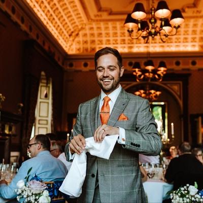 Meet Yorkshire wedding magician Tim Lichfield