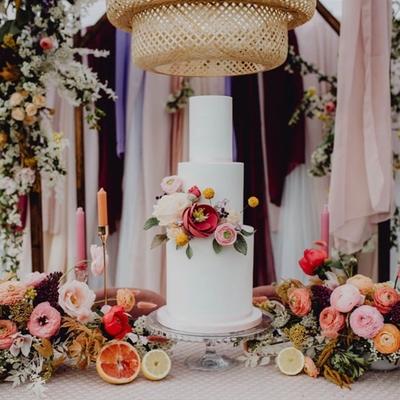 Love is sweet with Yorkshire wedding cake designer Grace Eva Cakes