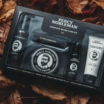 Grooming luxuries from Percy Nobleman