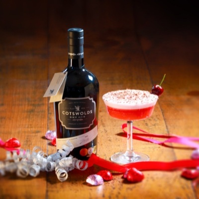Three fabulous cocktails from The Cotswolds Distillery to enjoy at home on Valentine's Day