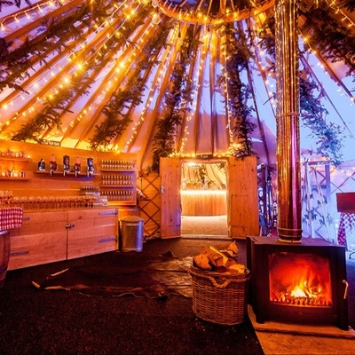 Yorkshire Yurts explains how you can still have a yurt wedding in winter