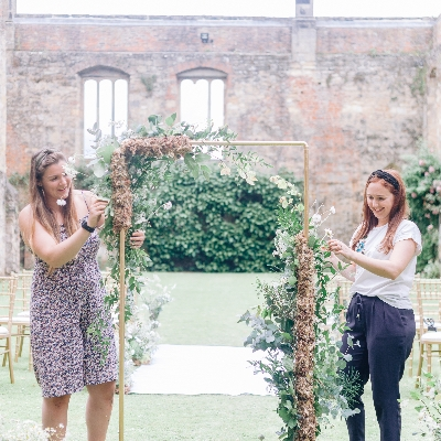 Meet Erika and Samantha of Yorkshire florist Tweedle Floral Design