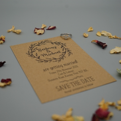 Perfectly personal wedding items from BC Creative