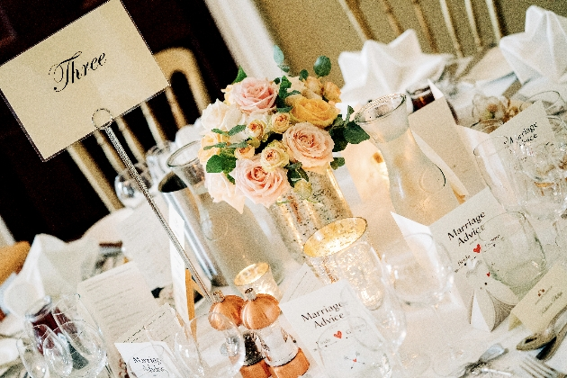 Floral decorations and favours