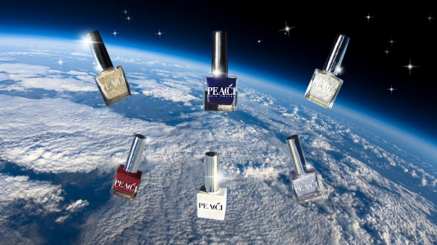 Peacci polishes collection in space