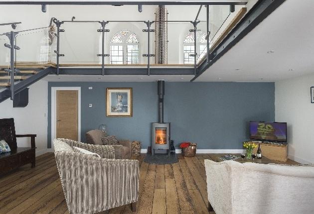 modern interior grey and white